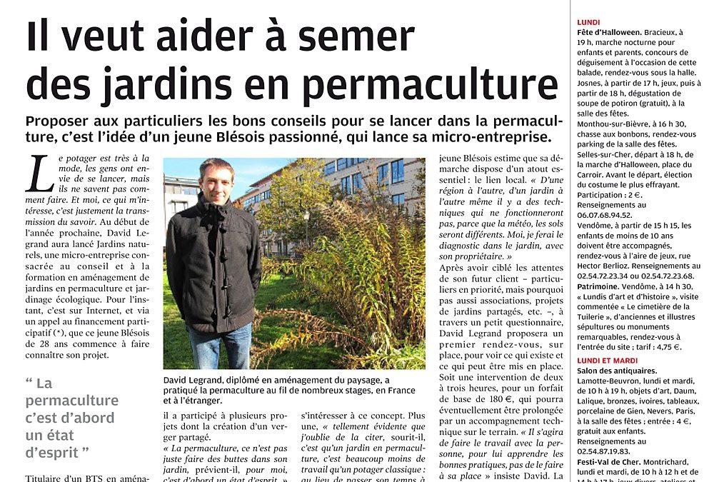 Journal « La Nouvelle République de Loir-et-Cher »