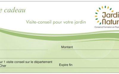 Offrez un chèque-cadeau «Visite-conseil»