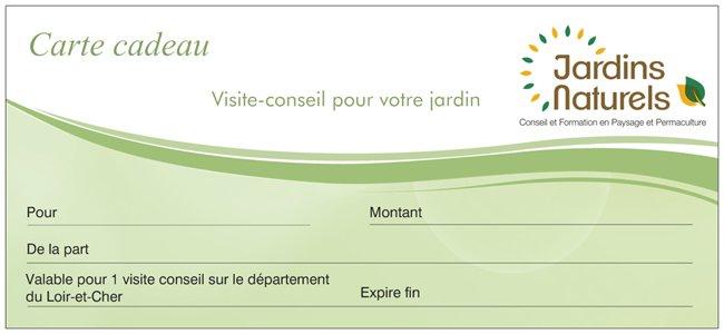 """Offrez un chèque-cadeau """"Visite-conseil"""""""